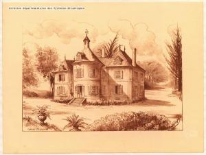 Chateau d'Eslayou (Archives Départementales 64)